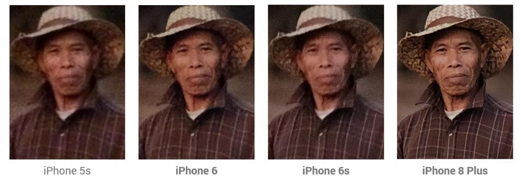 comparacion camaras iphone