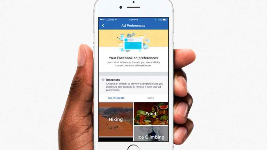facebook ads anuncios movil iphone