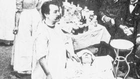 Nicholas Senn fue el primer médico en detectar una perforación intestinal con gas de hidrógeno.