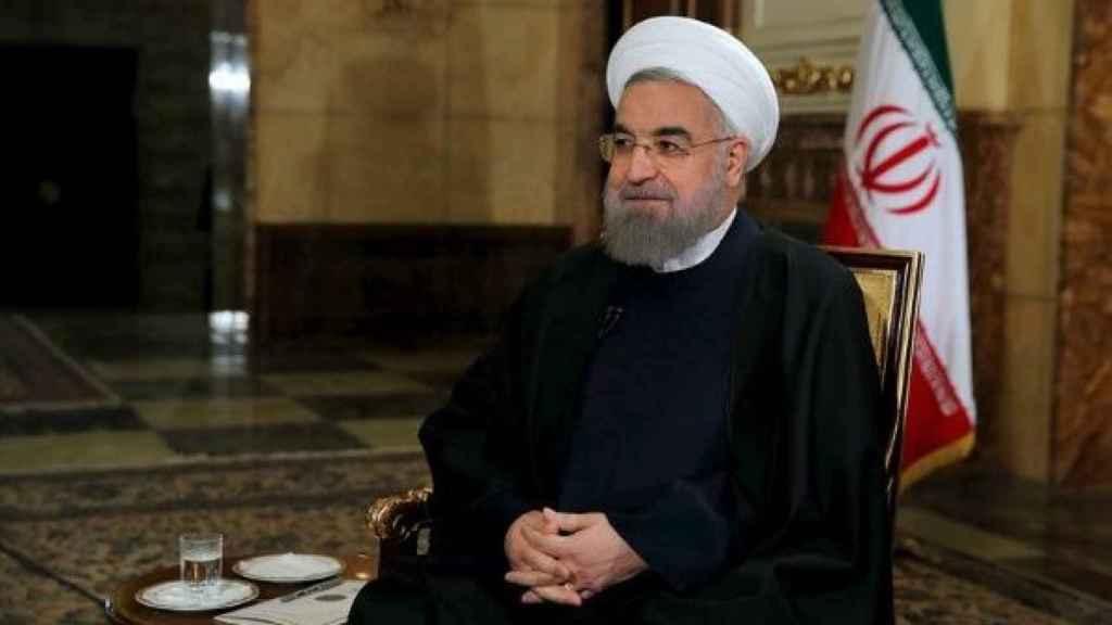 El presidente de Irán Hasan Rohaní