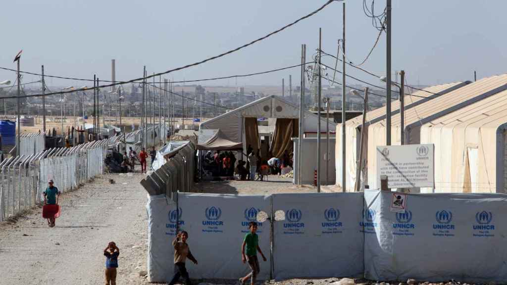 Campamento de Mosul.