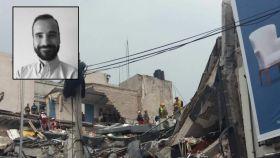 Javier Gómez Varo se encontraba trabajando en el 286 de la avenida Álvaro Obregón cuando el edificio se derrumbó.