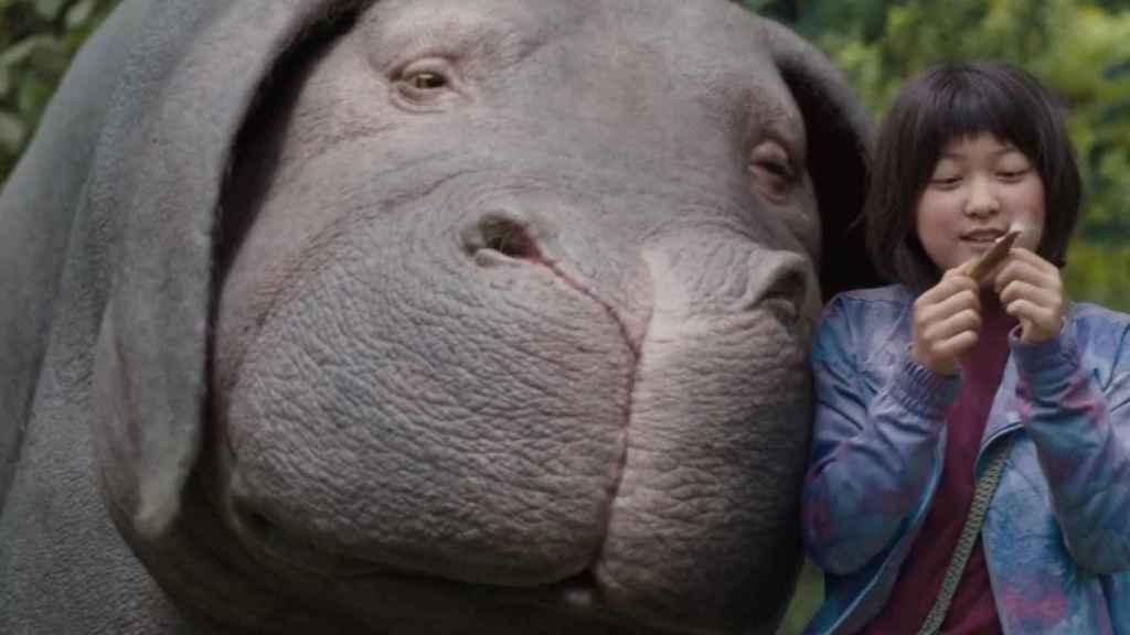 'Okja', una de las películas de Netflix en el Festival de Cannes.