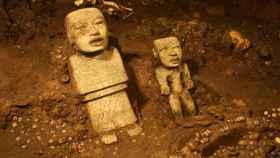 Uno de los hallazgos de Teotihuacán que podrán verse en el Museo de Young de San Francisco. Getty.
