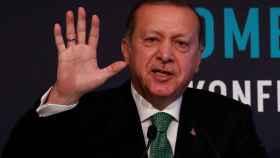 Erdogan durante un discurso en Estambul.