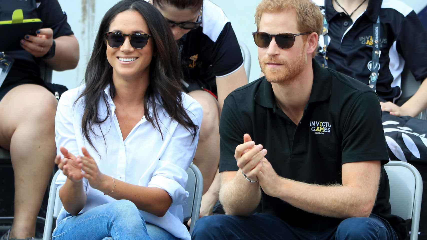 Las esperadas fotografías de Meghan Markle y el príncipe Harry