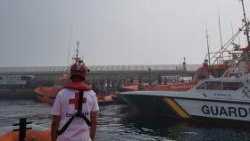 Rescatados 59 inmigrantes, 20 de ellos menores, de dos pateras en el Estrecho