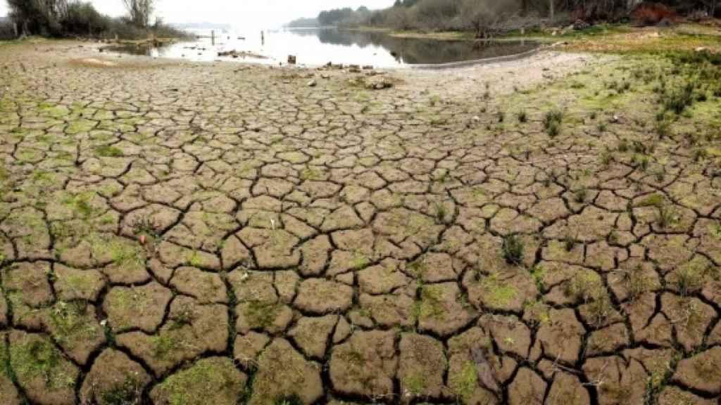España sufre sequía.