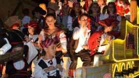 desfile carrozas fiestas medina del campo valladolid 32