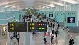 Aeropuerto de El Prat, en Barcelona.