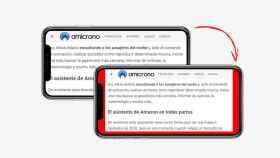 contenido web desperdiciado iphone x pantalla horizontal