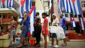 Calle en La Habana, única ciudad que tenía prestación del servicio de internet.
