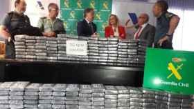 700 kilos de cocaína requisados en  Valencia.