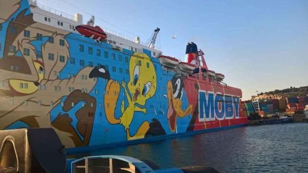 El conocido como barco de Piolín se llama en realidad Moby Dada
