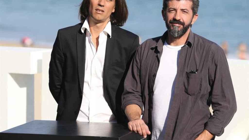 Rafa Cobos y Alberto Rodríguez presentan La peste en San Sebastián.