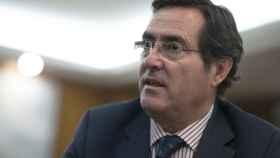 Antonio Garamendi, presidente de CEPYME en un momento de la entrevista