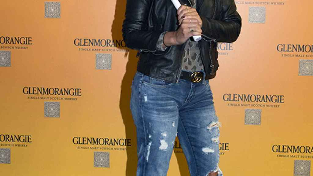 Elena Tablada en un evento de golf.