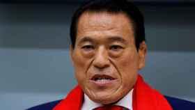 Antonio Inoki, el luchador japonés metido a político que no para de ir a Corea del Norte.
