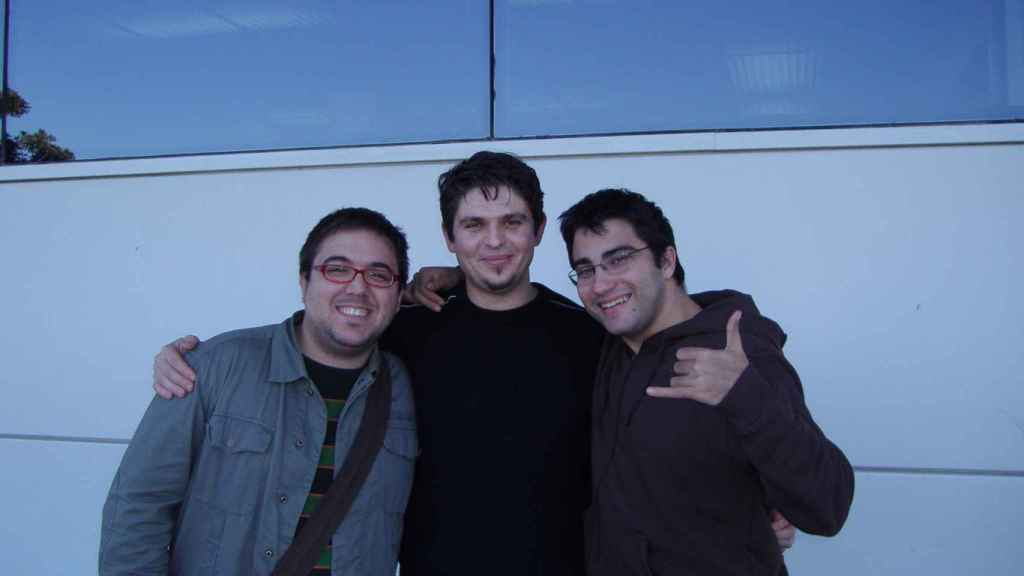 Los tres socios de Panoramio.