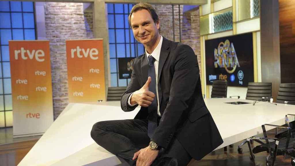 Javier Cárdenas es el presentador de Levántate y Cárdenas, en Europa FM, y Hora Punta, en TVE.