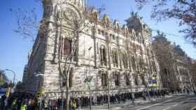 Edificio del Tribunal Superior de Justicia de Cataluña.