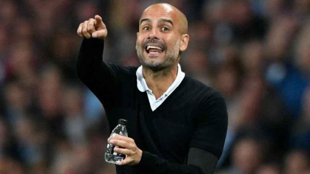 Guardiola, entrenador del City. Foto: Twitter (@ManCity)
