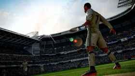 Cristiano Ronaldo celebrando un gol en el FIFA 18
