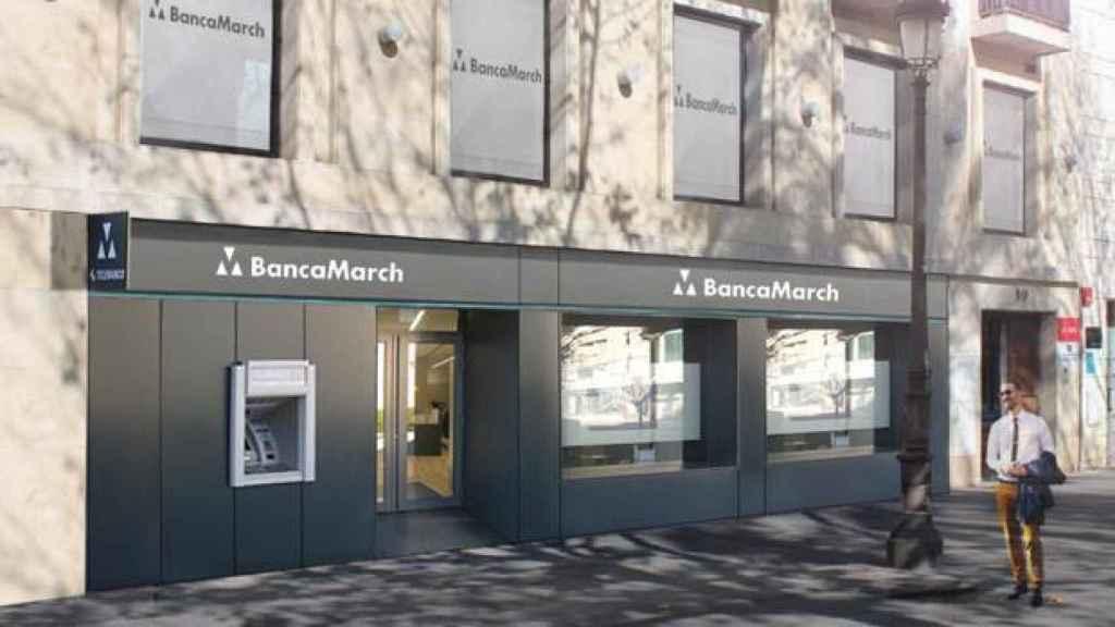 Una sucursal de Banca March en una imagen de archivo.