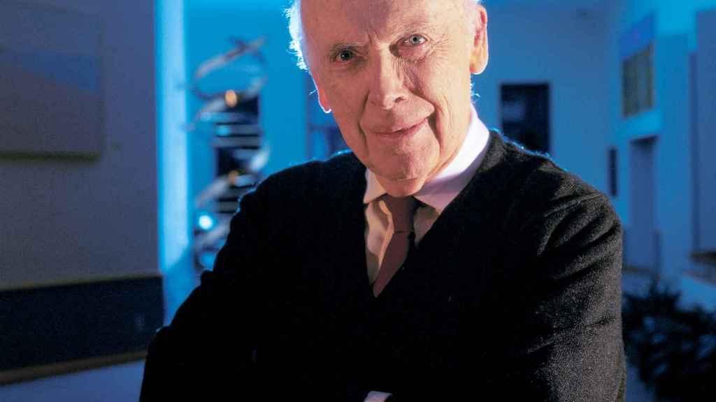 James D. Watson, descubridor del ADN y darwinista social.