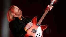 Tom Petty, durante una actuación en la Super Bowl.