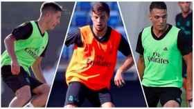 Los comodines de Zidane en el Castilla
