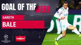 Bale, gol de la semana de la Champions League