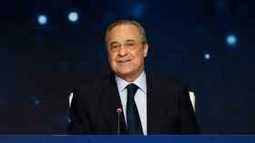 Florentino Pérez en la Asamblea de Socios Representantes del Real Madrid