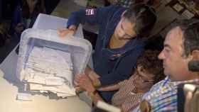 La Generalitat dice que el 'sí' ha ganado con el 90% de los votos