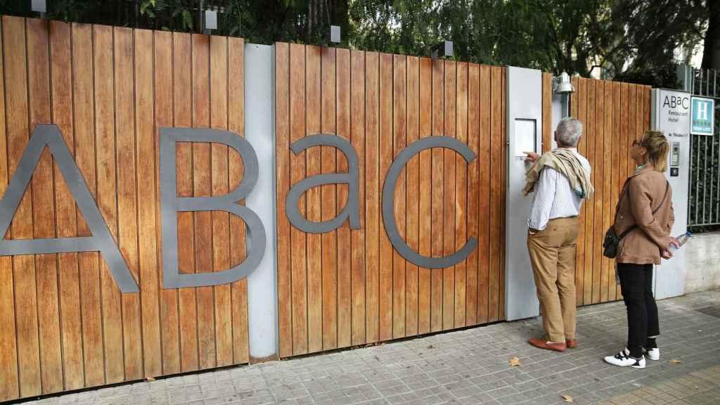 Imagen del restaurante ABaC, cerrado este martes.