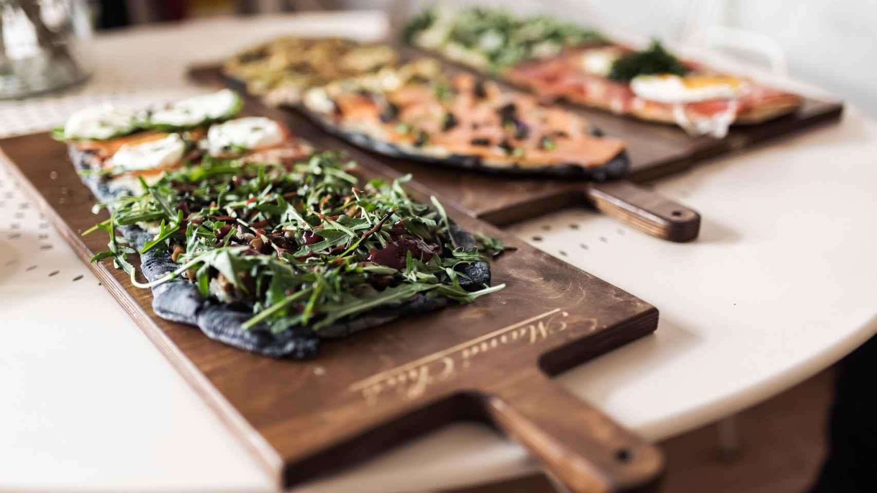 Las pizzas de Mamá Chicó se pueden encontrar en Madrid, Vigo y A Coruña.