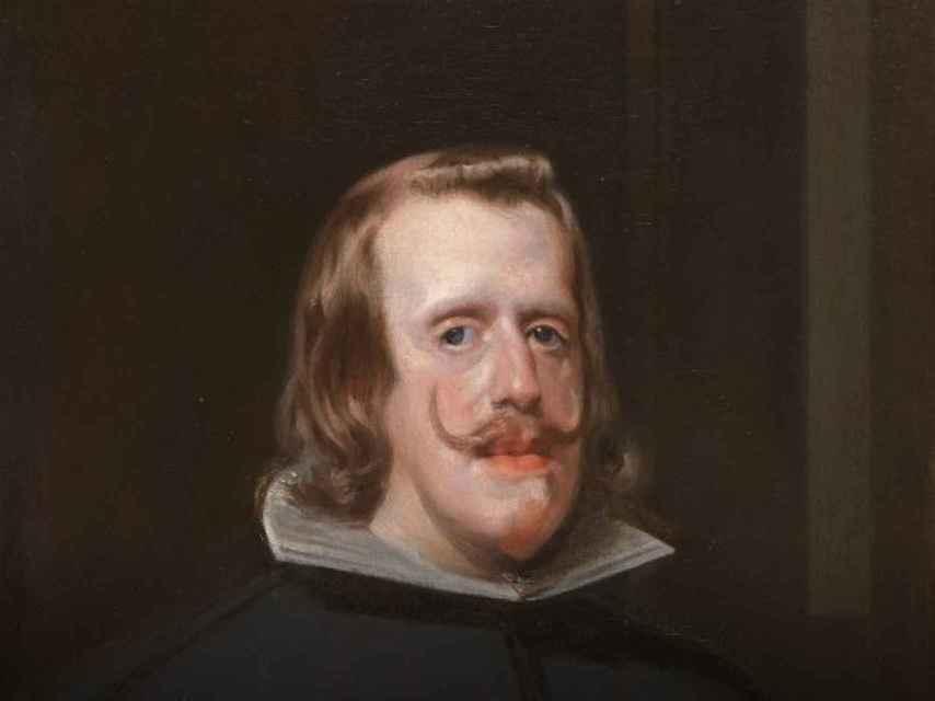 Felipe IV retratado por Velázquez.