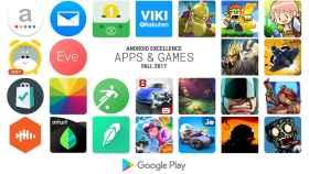 Google elige las mejores aplicaciones y juegos de Android para este otoño