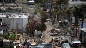 Viviendas arrasadas en Canovanas, Puerto Rico