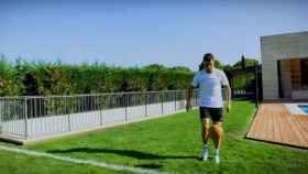 Cristiano emula el gol ante el Shalke 04