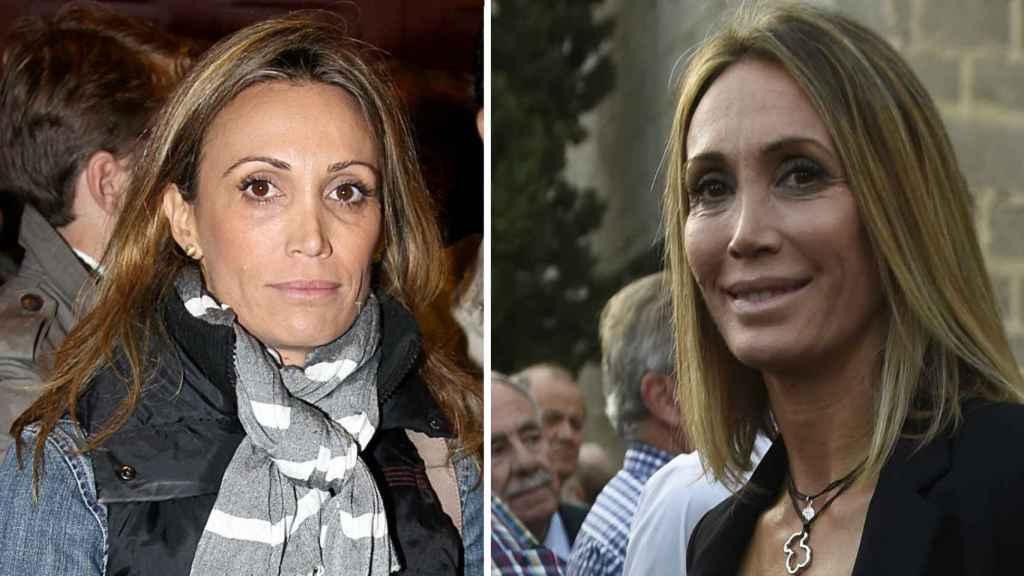 Cristina Sánchez en 2011 (izda.) y este miércoles (dcha.)
