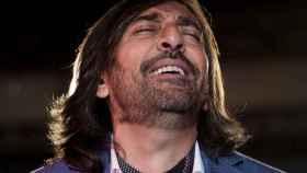 Antonio Carmona, en la presentación de su disco 'Obras son amores'