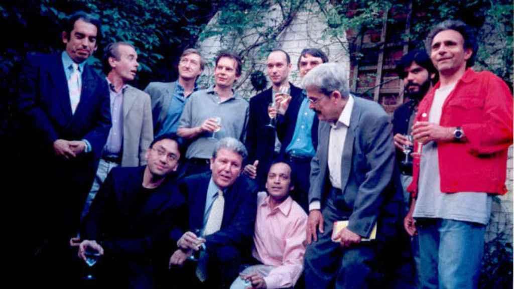 Herralde y su 'british dream team' en el aniversario de la editorial.
