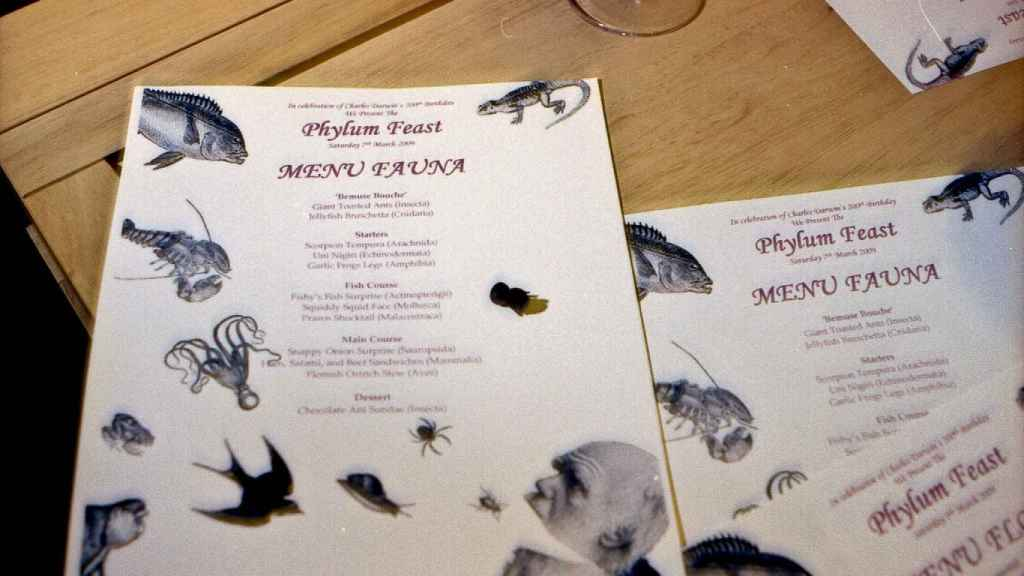 Invitación a un banquete Phylum.