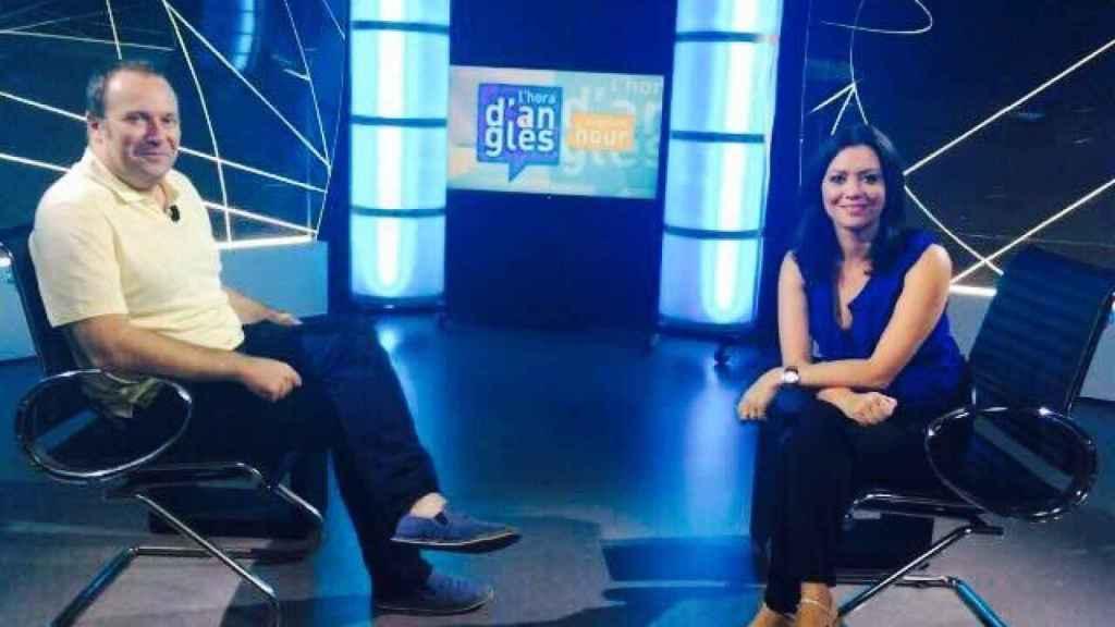 Marcela Topor, durante una de sus entrevistas en El Punt Avui TV.