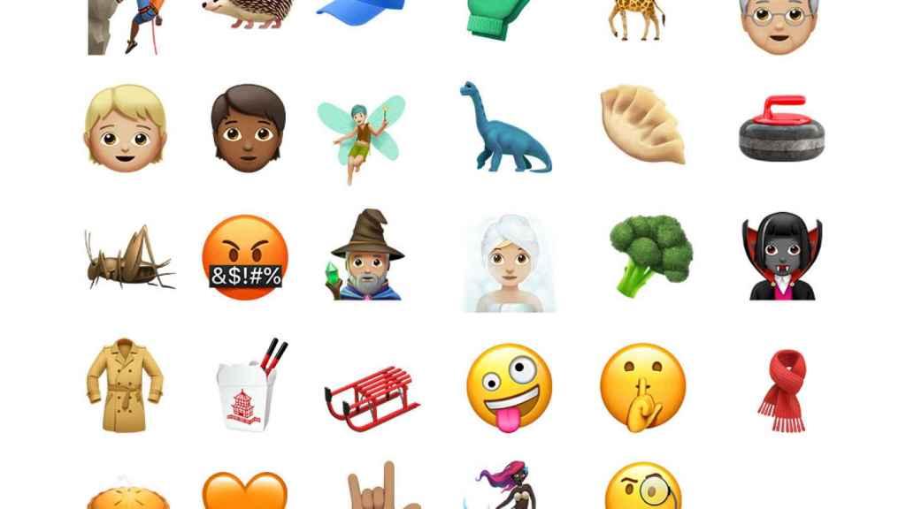 29 nuevos emojis unicode 10 ios 11 1
