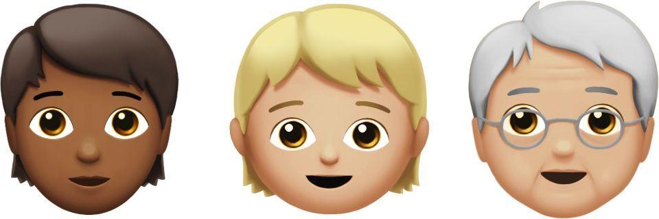 caras ios 11 1 unicode 10 emojis
