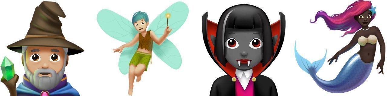 criaturas magicas ios 11 1 unicode 10 emojis