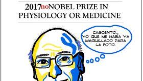 Caricatura de Francis Mojica, publicada en la revista 'Acta sanitaria'