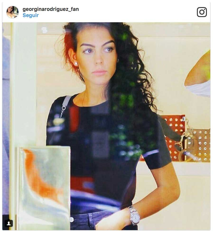 Las fotos nunca vistas de Georgina Rodríguez antes de ser novia de Cristiano
